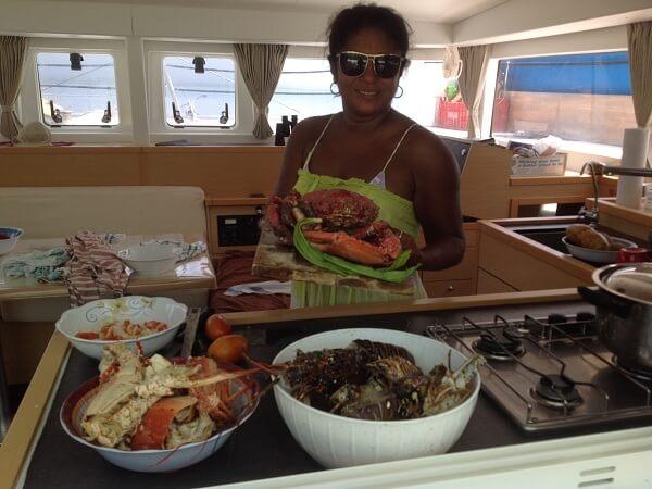 LAGOON 400 - cook 2