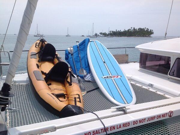 LAGOON 400 - kayak + paddle