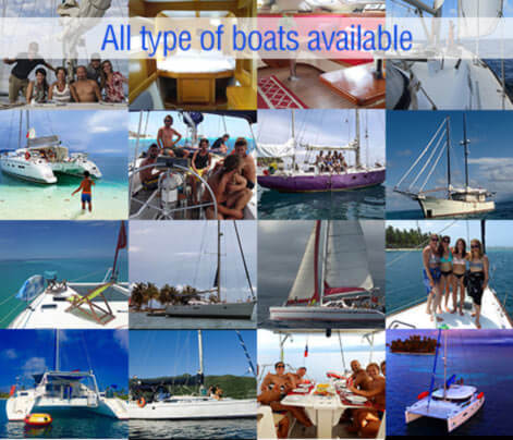All type of boats available