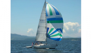 First_42_sailing