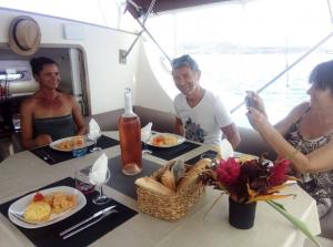 Monoi Lagoon 47 charter in san blas