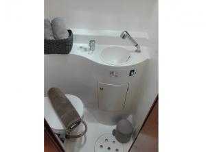 Monoi Lagoon 47 charter san blas Bathroom