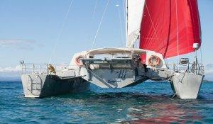 ZOE anchored in san blas