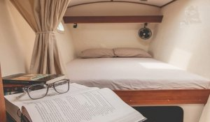 Asante catamaran Cabin double